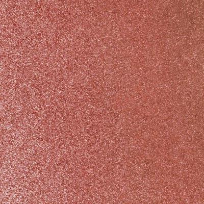 Flot selvklæbende folie i kobber med masser af glitter