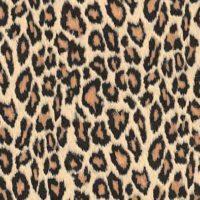 selvklæbende folie med leopardmønster i gyldne farver