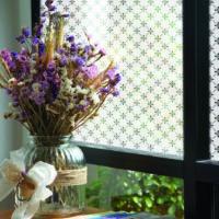 vinduesfolie static blomst i 67,5 x 1,50