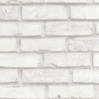 selvklæbende folie med hvide mursten
