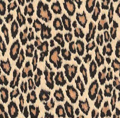 Selvklæbende folie i gyldenbrun leopardmønster