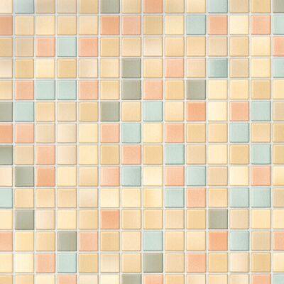 selvklæbende folie i mosaikmønster i flere farver Toscana mix