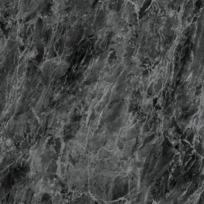 selvklæbende folie i sort marmor med sølv