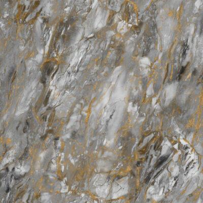 selvklæbende folie i mørkegrå marmor med guld