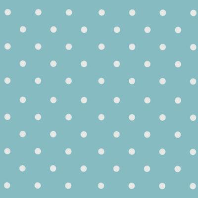 selvklæbende folie i en mat babyblå - lyseblå farve med hvide prikker